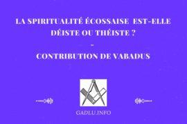 LA SPIRITUALITÉ ÉCOSSAISEEST-ELLE DÉISTE OU THÉISTE? – VABADUS
