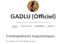GADLU (Officiel) : Humour maçonnique by THE Grand Architecte