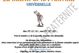 LA GAZETTE UNIVERSELLE DE LA FRATERNITÉ N° 21