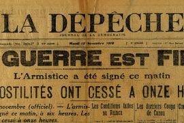 11 novembre 1918 : Un armistice met fin à la Grande Guerre