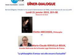 FRANC-MAÇONNERIE & SOCIÉTÉ : LA PHILOSOPHIE D'AMOUR