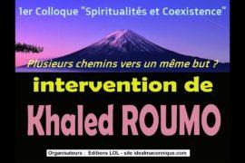 """VIDEOS DES INTERVENTIONS DU 1° COLLOQUE """"SPIRITUALITÉS ET COEXISTENCE"""""""