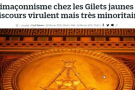 ANTI-MACONNISME CHEZ LES GILETS JAUNES ?