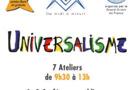 UTOPIALES MAÇONNIQUES 2019 – PARIS & REGIONS