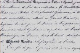 CHRONIQUE D'HISTOIRE MAÇONNIQUE LORRAINE N°31 – ILDERM