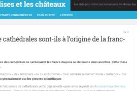 LES BÂTISSEURS DE CATHÉDRALES : Une filiation douteuse avec la franc-maçonnerie