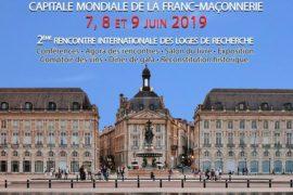 ICOM 2019 – Rencontres Internationales d'Histoire Maçonnique – BORDEAUX