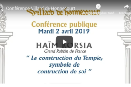 VIDÉO – LA CONSTRUCTION DU TEMPLE, SYMBOLE DE CONSTRUCTION DE SOI