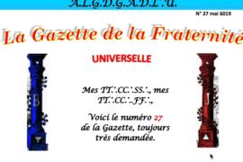 LA GAZETTE UNIVERSELLE DE LA FRATERNITÉ N° 27 – Un futur pour le Grand Edifice