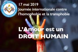 DROIT HUMAIN – L'AMOUR EST UN DROIT HUMAIN