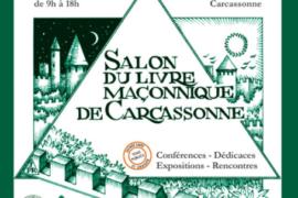 6° SALON DU LIVRE MAÇONNIQUE DE CARCASSONNE – 2019