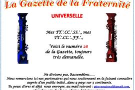 LA GAZETTE UNIVERSELLE DE LA FRATERNITÉ N° 28 – PERSPECTIVE !