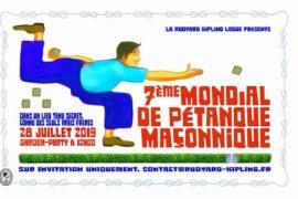 7° MONDIAL DE PÉTANQUE MAÇONNIQUE