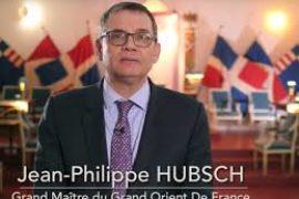 JEAN-PHILIPPE HUBSCH, RÉÉLU GRAND MAÎTRE DU GODF