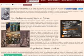 HISTOIRE ET ORIGINE DE LA FRANC-MAÇONNERIE – HISTOIRE POUR TOUS