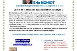 18 H 30 PILE ! – Le rôle de la télévision dans la relation au citoyen ?