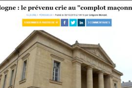 """VICTIME D'UN """"COMPLOT MAÇONNIQUE"""", IL FONCE EN VOITURE SUR LE MAIRE"""