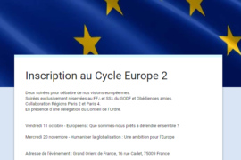 LE 2° EDITION DU CYCLE EUROPE
