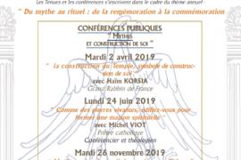 VILLARD DE HONNECOURT – MYTHES, RITUELS ET DAILOGUES INTER-RELIGIEUX