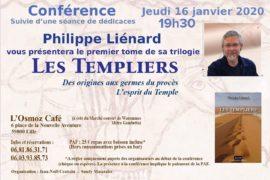 CONFÉRENCE SUR LES TEMPLIERS AVEC PHILIPPE LIENARD