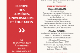 "COLLOQUE ""EUROPE DES LUMIÈRES"" – GLMF"