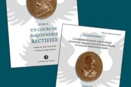 LA CORRESPONDANCE MACONNIQUE ECHANGEE – TOME 1 & 2