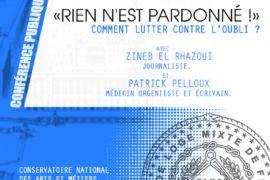 CONFERENCE GLMF – «RIEN N'EST PARDONNÉ !»