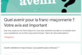 ENQUÊTE – QUEL AVENIR POUR LA FRANC-MAÇONNERIE ?