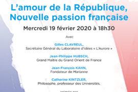 L'AMOUR DE LA RÉPUBLIQUE, NOUVELLE PASSION FRANÇAISE