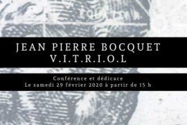 A LA RENCONTRE DU V.I.T.R.I.O.L. AVEC JEAN PIERRE BOCQUET A LILLE