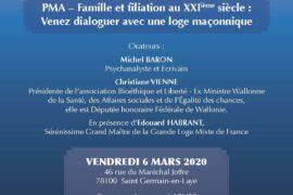 CONFÉRENCE – PMA – Famille et filiation au XXI° siècle