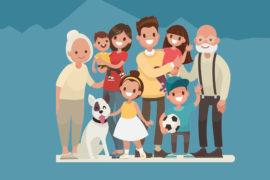 L'IMPORTANCE DE LA FAMILLE…D'UNE FAMILLE