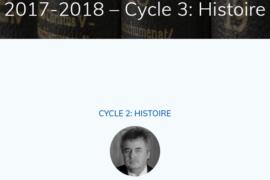CYCLE HISTOIRE DE J.L. TURBET OFFERT PAR LE CAMPUS MAÇONNIQUE