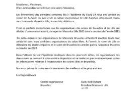 REPORT DES SALONS MAÇONNIQUES : MASONICA BRUXELLES – MASONICA LILLE