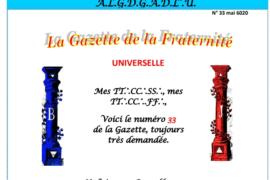 LA GAZETTE UNIVERSELLE DE LA FRATERNITÉ N° 33 – se retrouver soi-même