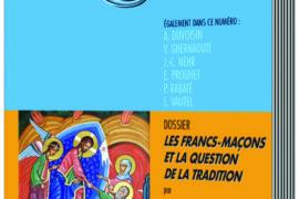 LES FRANCS-MACONS ET LA QUESTION DE LA TRADITION – CHAINE D'UNION N°92