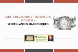 CHEVALIERS ET EMPEREURS D'ORIENT