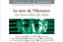 LES CAHIERS DE L'ALLIANCE N°6 – LE SENS DE L'HONNEUR