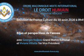RADIO : DROIT HUMAIN – BILAN ET PERSPECTIVES DE L'ANNÉE