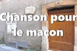 RÉFLEXION EN VIDÉO : CHANSON POUR LE MAÇON – @BLOG 357