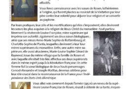 LES RELIGIEUSES DU MONASTÈRE NANCÉIEN AU COEUR D'UN RÉSEAU MAÇONNIQUE