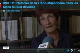 HISTOIRE DE LA FRANC-MAÇONNERIE DANS LES ALPES DU SUD – VIDEO