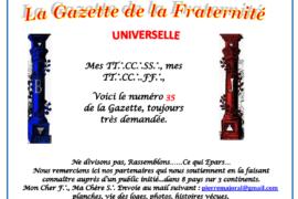 LA GAZETTE UNIVERSELLE DE LA FRATERNITÉ N° 35