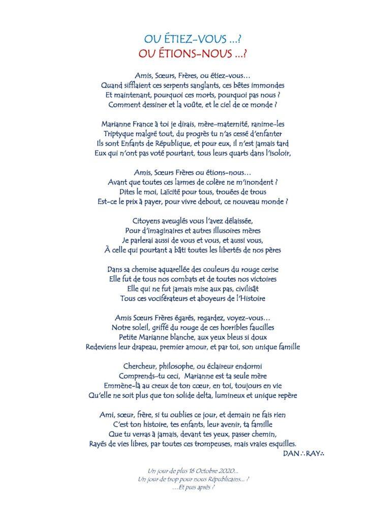 OU ÉTIEZ-VOUS …? OU ÉTIONS-NOUS …? dans Contribution OU-ETIEZ-VOUS...-16-octobre-2020--724x1024