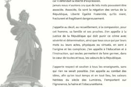 COMMUNIQUE GLDF : Les valeurs héritées du siècle des Lumières, doivent l'emporter sur l'ignorance, la haine et l'obscurantisme