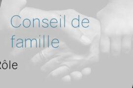 Planche : LE CONSEIL DE FAMILLE