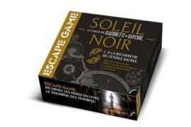 BOÎTE DE JEU ESCAPE GAME : SOLEIL NOIR