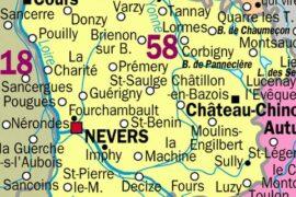 LA NIÈVRE : 23 LOGES MAÇONNIQUES ET 600 FRANCS-MAÇON(NE)S