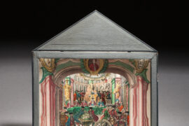 DIORAMA MAÇONNIQUE – MUSÉE ARCHIVES BIBLIOTHÈQUE DE LA GLDF