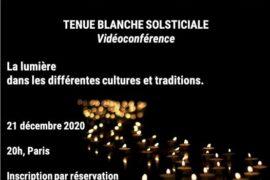 """TENUE BLANCHE SOLSTICIALE """"LA LUMIERE"""" – GLCS"""